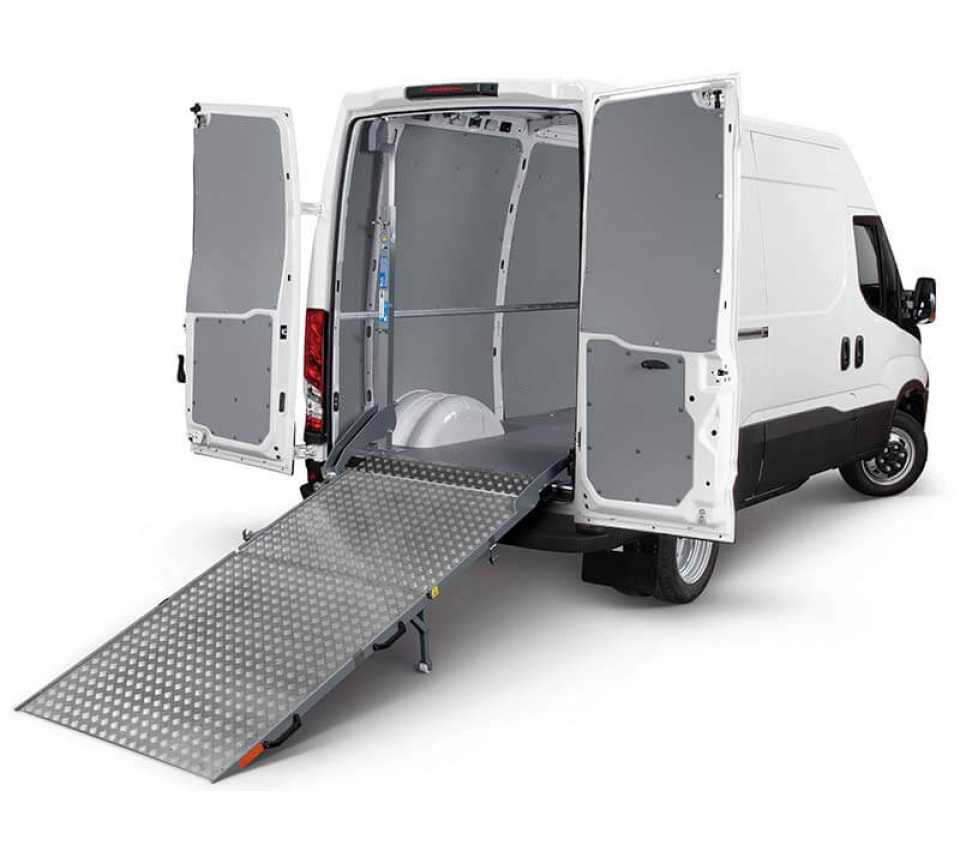 Van loading Ramp - Large Van - 16 mc